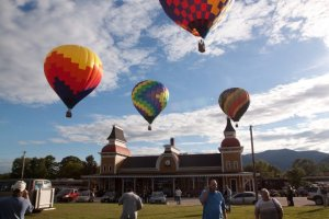North Conway NH Hot Air Balloons