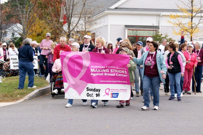 PLANS UNDERWAY FOR COMMUNITY-WIDE EVENT TO  FIGHT BREAST CANCER