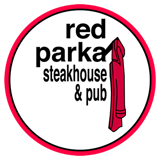 NOrth Conway NH red parka pub