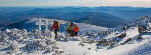 Moountain Adventures, guided by Eastern Mountain Sports School, NH!
