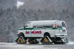 SnowCoach at the Mt. Washington Auto Road