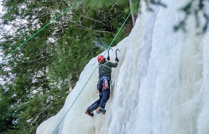 Take your vacation to new heights with ice climbing