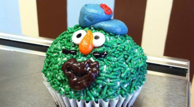 Celebrate Opening Day in Boston at the White Mountain Cupcakery at Settlers' Green Outlet Village on April 4