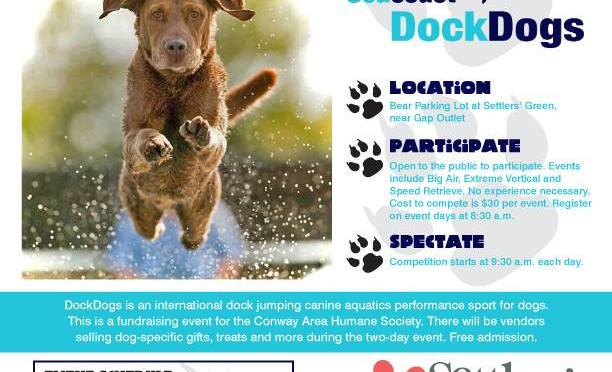 Dock Dogs at Settlers' Green Outlet Village!