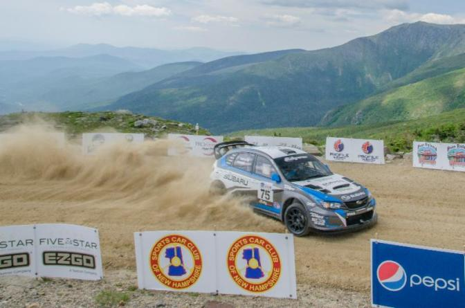 DAVID HIGGINS FROM THE ISLE OF MAN SETS NEW SUBARU   MT. WASHINGTON HILLCLIMB RECORD – 6 MINUTES, 9 SECONDS
