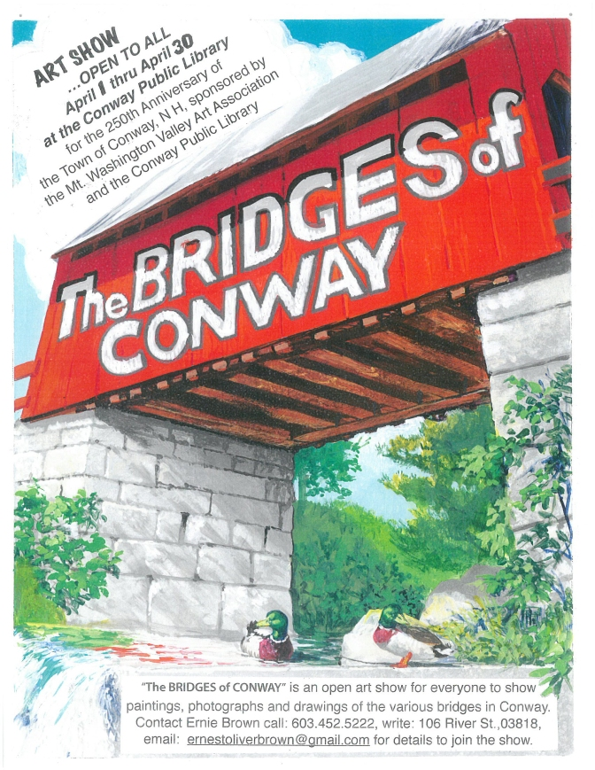 Bridges of Conway Art Display