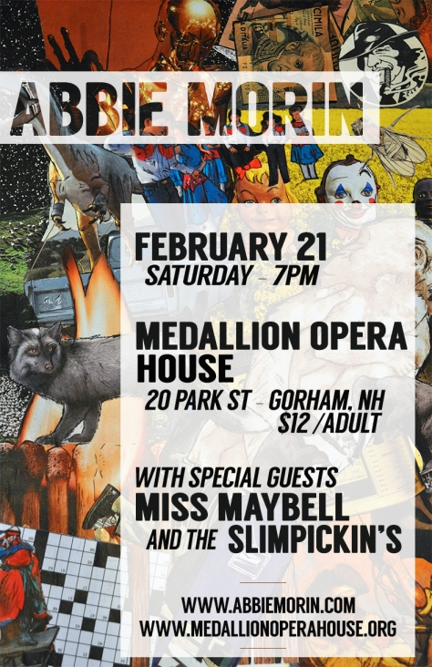 Abbie Morin & Miss Maybell flyer
