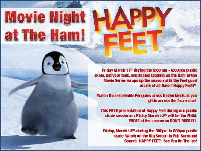 Movie Night at the Ham Arena!
