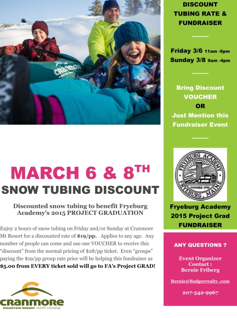 Snow Tubing Poster
