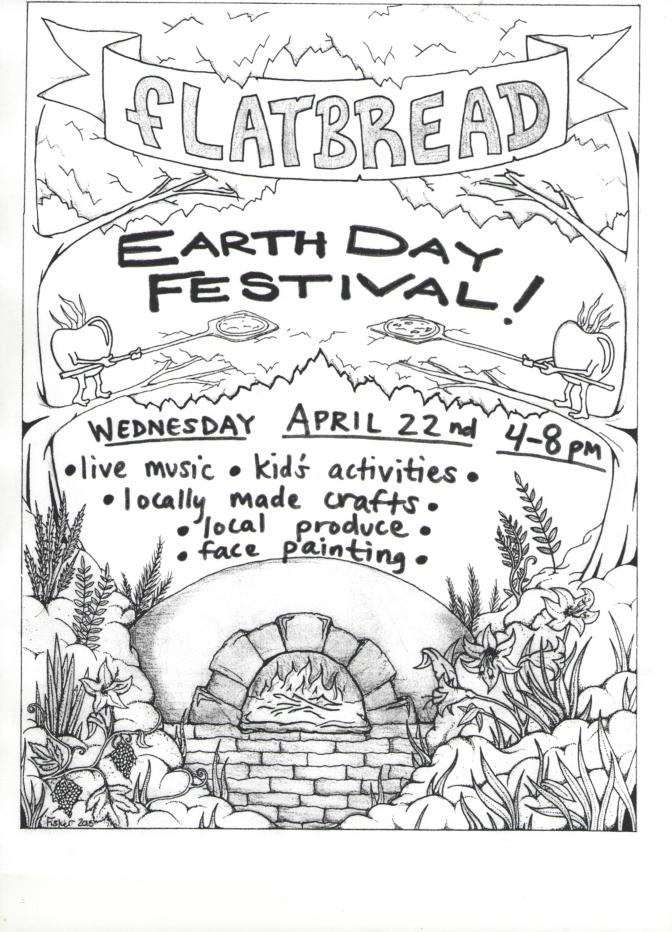 Celebrate Earth Day with Flatbread Co.