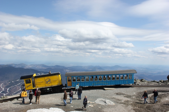 Mount Washington Cog Railway Opening Saturday, April 25 for 2015 Season