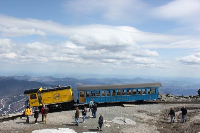 Mount Washington Cog Railway Opening Saturday, April 25 for 2015 Season