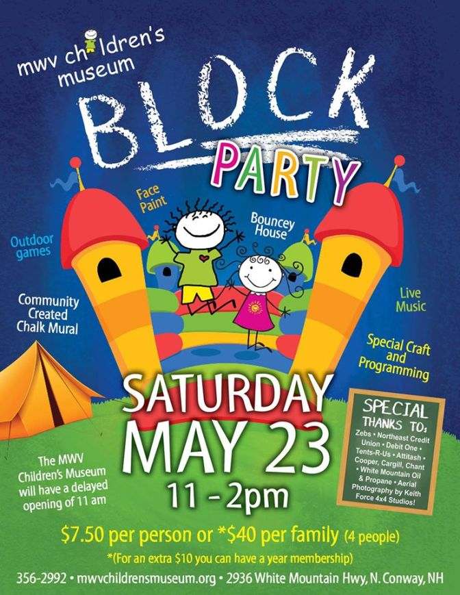 Block Party at MWV Children's Museum!