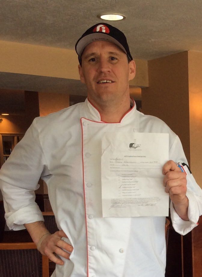 Red Jacket Mountain View Resort's Chef James Scharnowske Receives Executive Chef Status from American Culinary Federation