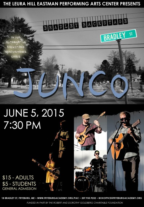 Junco Poster copy