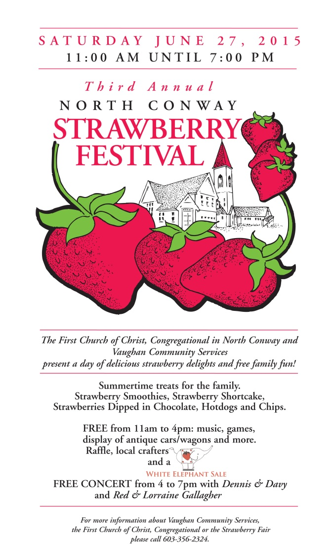 Third Annual Strawberry Fest in North Conway, NH