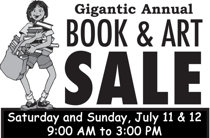 Annual Book & Art Sale