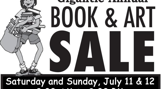 Annual Book & Art Sale