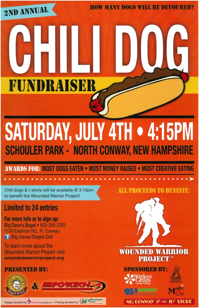 4th of July Chili Dog Eating Contest