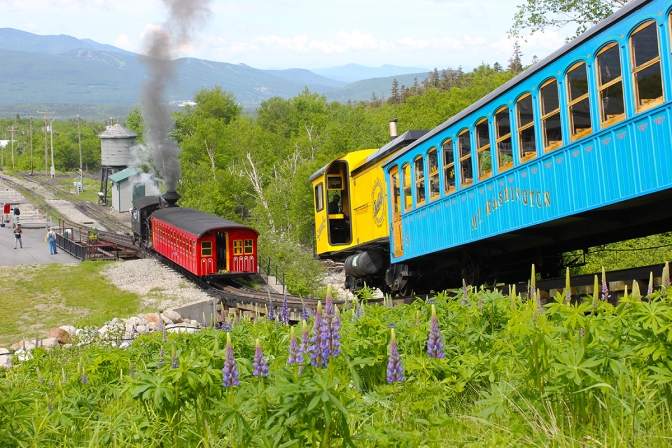 The Mount Washington Cog Railway Once More Offering Summit Photo Tour