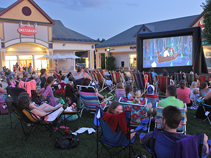 Movies on the Green Tuesday Nights This Summer