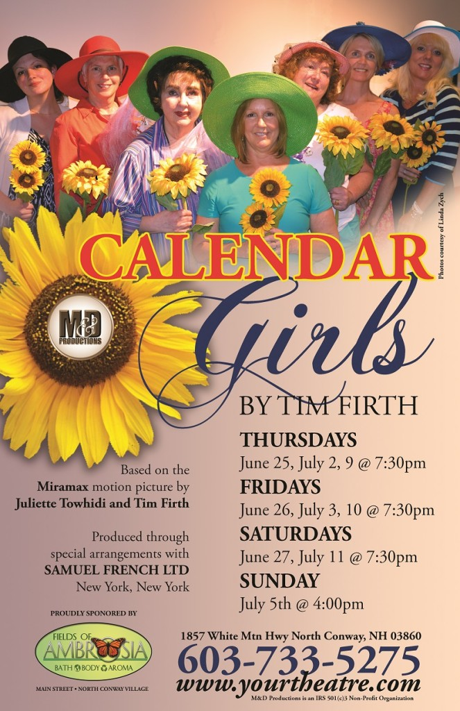 Calendar Girls Now Playing at M&D Productions