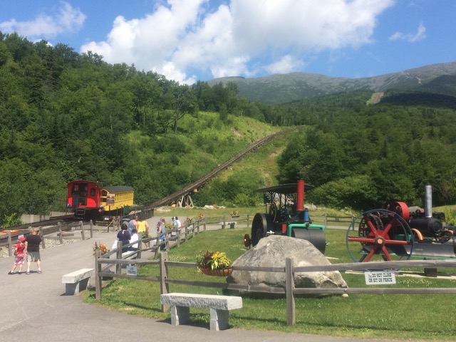 Beat the heat aboard the Cog Railway