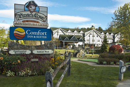 Comfort Inn & Suites Hotel of North Conway, New Hampshire Honored Again with Choice Hotels' Hotel of the Year Award