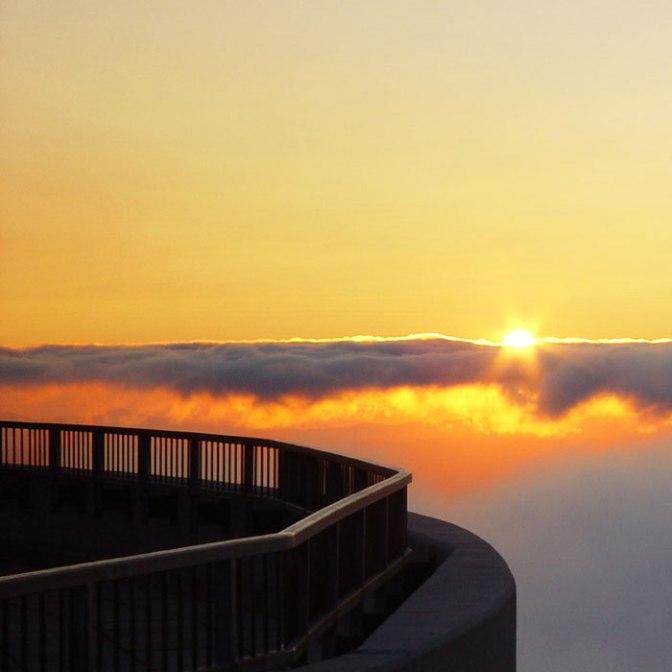 Sunset Soiree on top of Mount Washington