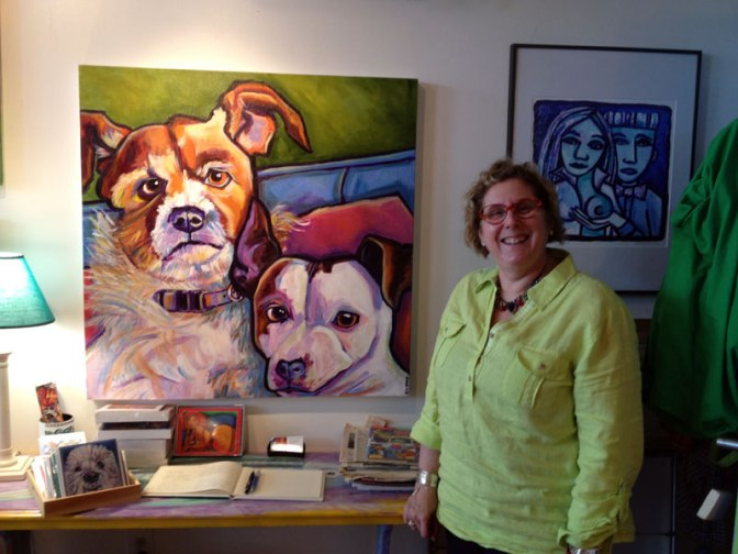 Cassidy Gallery features the art of Ilene Richard, well known children's illustrator