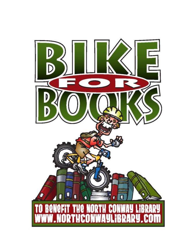 Bike for Books — Saturday, Oct. 3, 2015