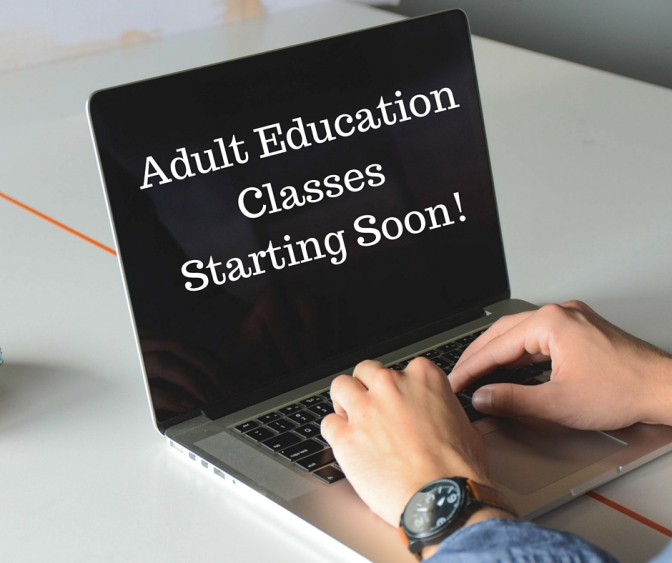 Kennett High School Adult Education Programming for Fall 2015
