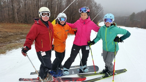Early season skiing with friends at Bretton Woods 11/28/15