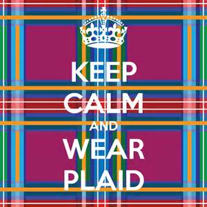 Plaid is the New Black on Friday, November 27