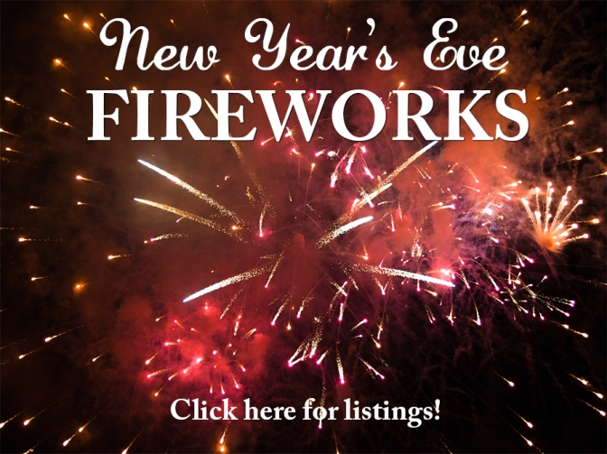 Check listings for area fireworks displays