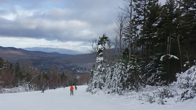 Bretton Woods Showing Off Great Conditions on Saturday