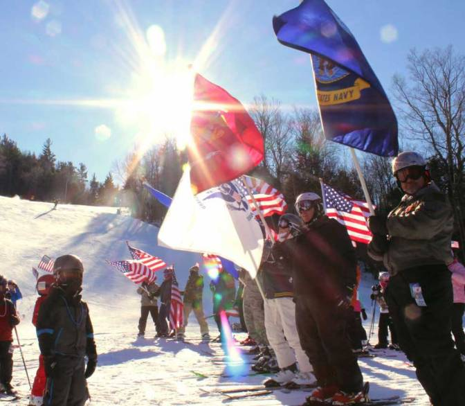 Military Personnel Ski Free at Attitash and Wildcat This Weekend