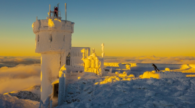 """North Conway Library presents:  """"The History of Weather Observation on Mount Washington""""  With Ed Bergeron"""