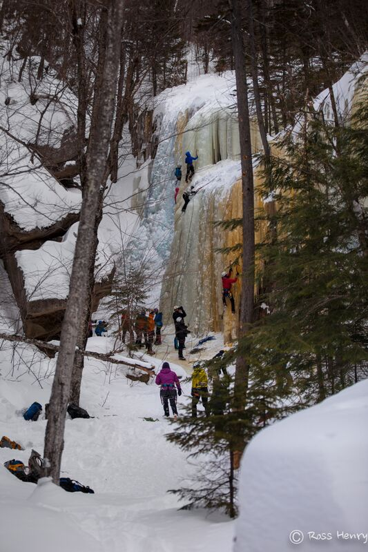 Mt. Washington Valley Ice Fest February 5, 6 and 7
