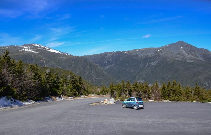 MT. WASHINGTON AUTO ROAD OPENS TO PASSENGER VEHICLES TO TREELINE (4,200 FEET)