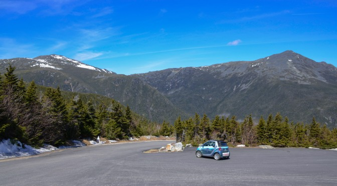 MT. WASHINGTON AUTO ROAD OPENS TO PASSENGER VEHICLES TO TREELINE (4,200 FEET)