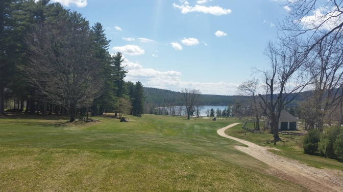 Golfing in April in the Valley