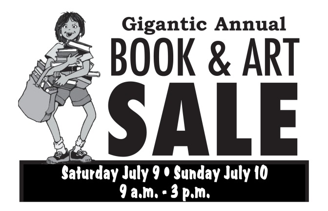 Gigantic Book & Art Sale at North Conway Public Library