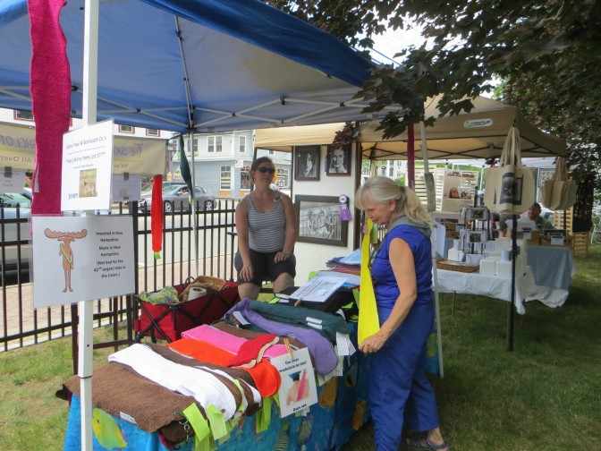 Looking for Artists & Crafters for Library's Book & Art Sale, July 9 + 10