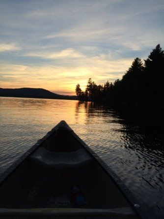Sunset Paddling Tours on the Androscoggin River