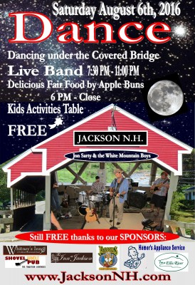 13th Annual Covered Bridge Dance in Jackson, New Hampshire