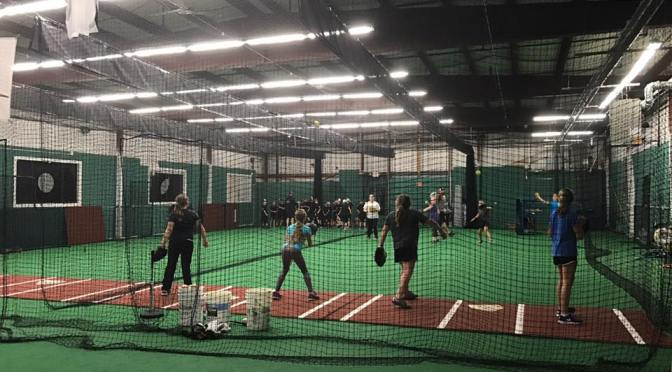 Rock, Hit, and Dodge Saturdays at the Home Run Sports Training Center