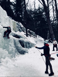 Ice Climbing North Conway NH