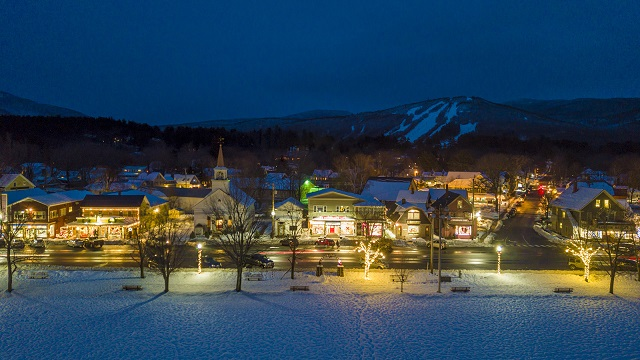 Light up the town as a sign of optimism in Mt. Washington Valley, NH