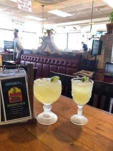 ice cold margaritas